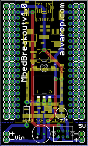 Mbed Breakout PCB