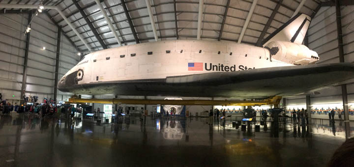 Space Shuttle in LA
