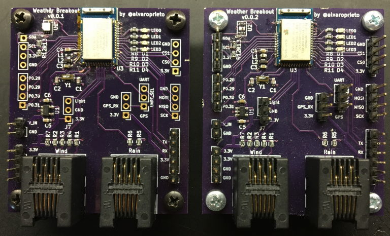 First BLE Boards