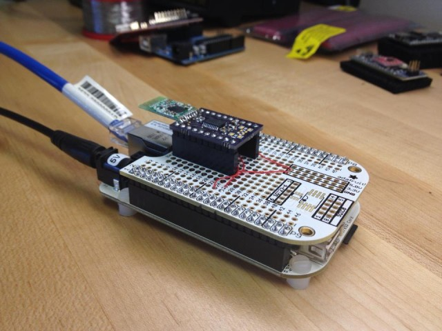 Beaglebone with a more 'permanent' radio setup